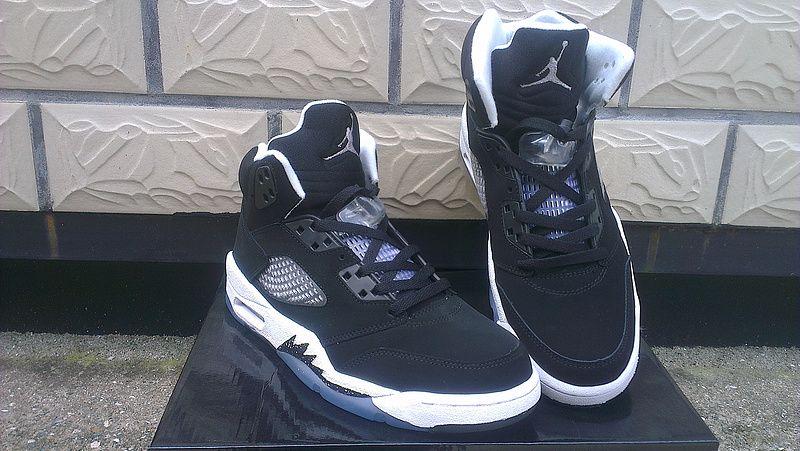 Mens Air Jordan V White shoes