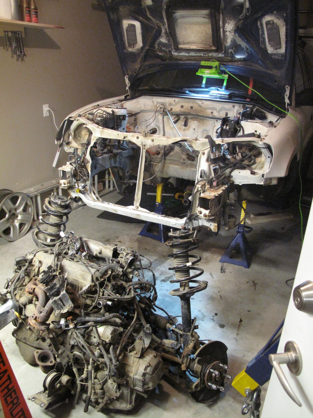 Yanking Rav4 Original 3s Fe 120hp Engine And Automatic Gearbox Rav4 Toyota Rav4 Toyota