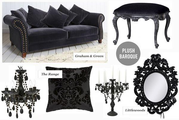 mas de 1000 imagens sobre gothic vintage decor no pinterest filmes clssicos barroco e vintage glamuroso - Baroque Home Decor
