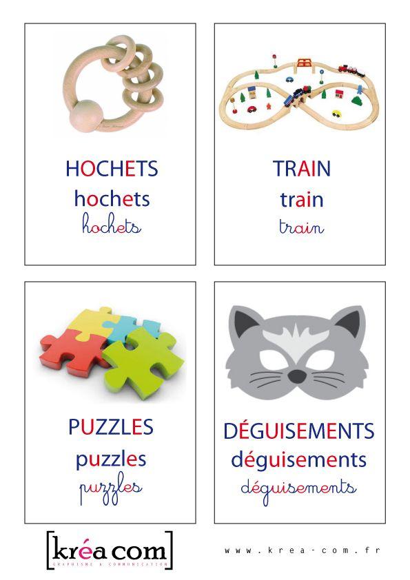 tiquettes boites a jouets montessori4 etiquettes pinterest boite maternelle et activit. Black Bedroom Furniture Sets. Home Design Ideas