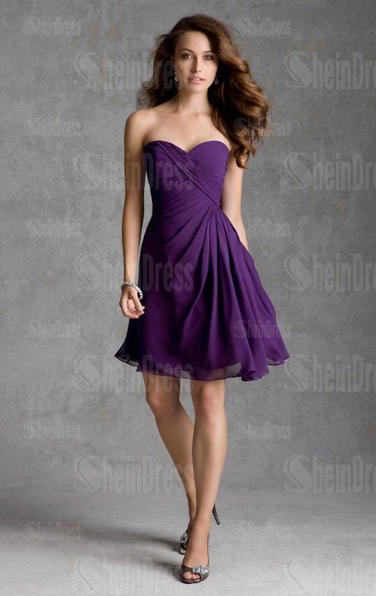 1000  images about Purple bridesmaid dresses on Pinterest  Aisle ...