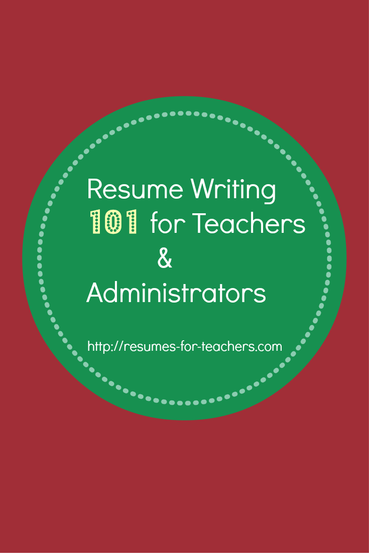 resume    cv writing tips for teachers and school