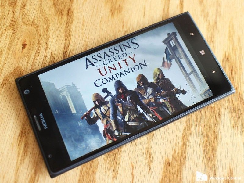 Assassin S Creed Unity Gets A Windows Phone Companion App If You