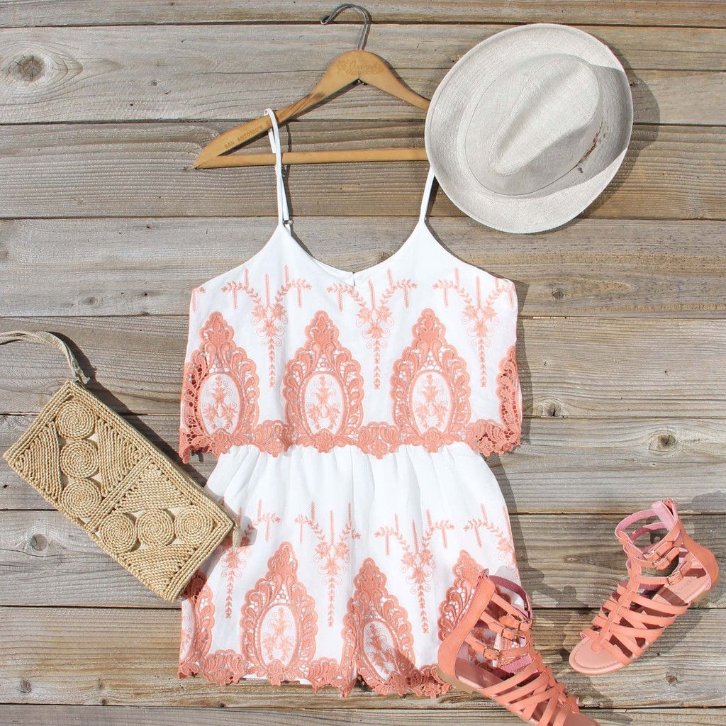Palm Springs Romper, Sweet Affordable Rompers & Dresses from Spool 72.   Spool No.72