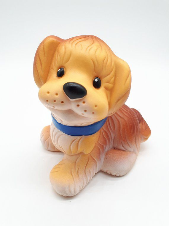 Vintage Dog Toy Rubber Toy Soviet Toy Bath Toy Squeaky Toy
