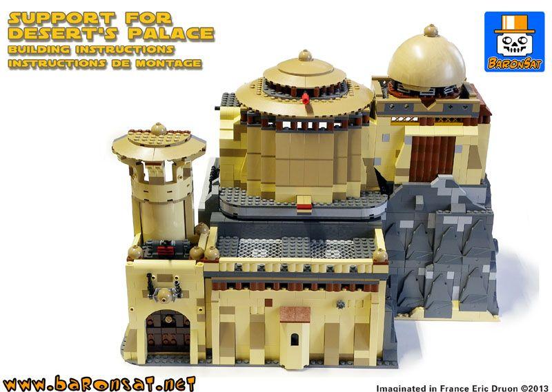 Support for Jabba's palace | Lego MOC ideas | Pinterest | Lego moc