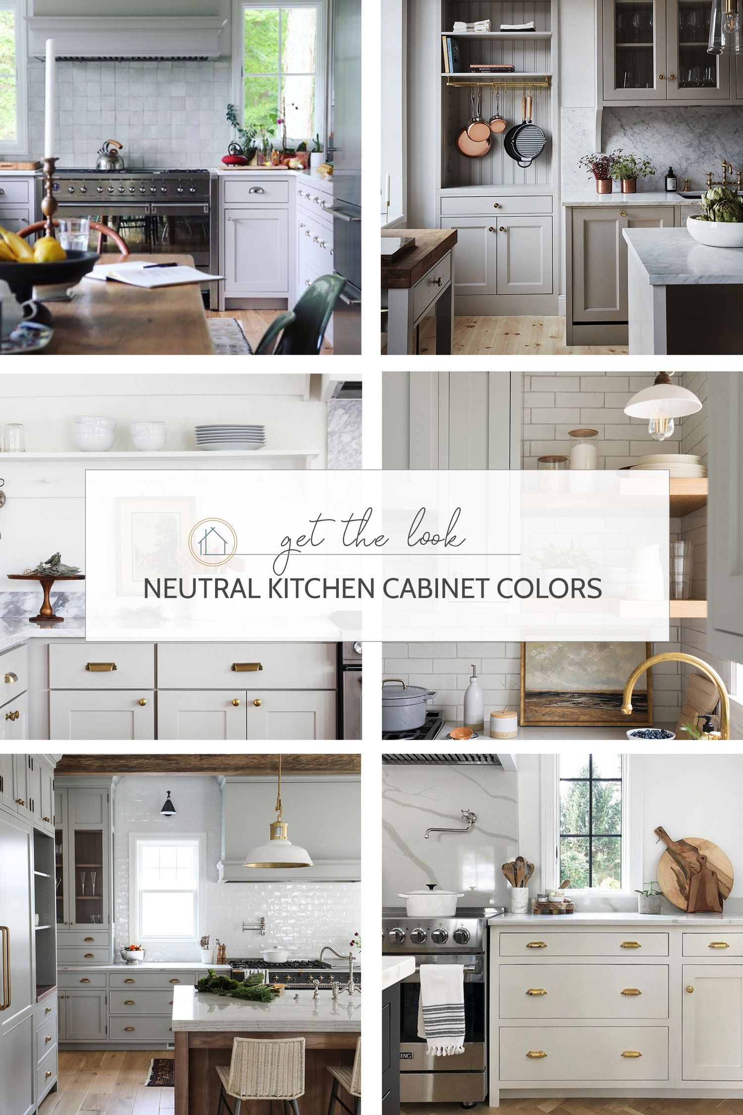 8 Great Neutral Cabinet Colors For Kitchens Neutral Cabinets Cabinet Colors Kitchen Colors
