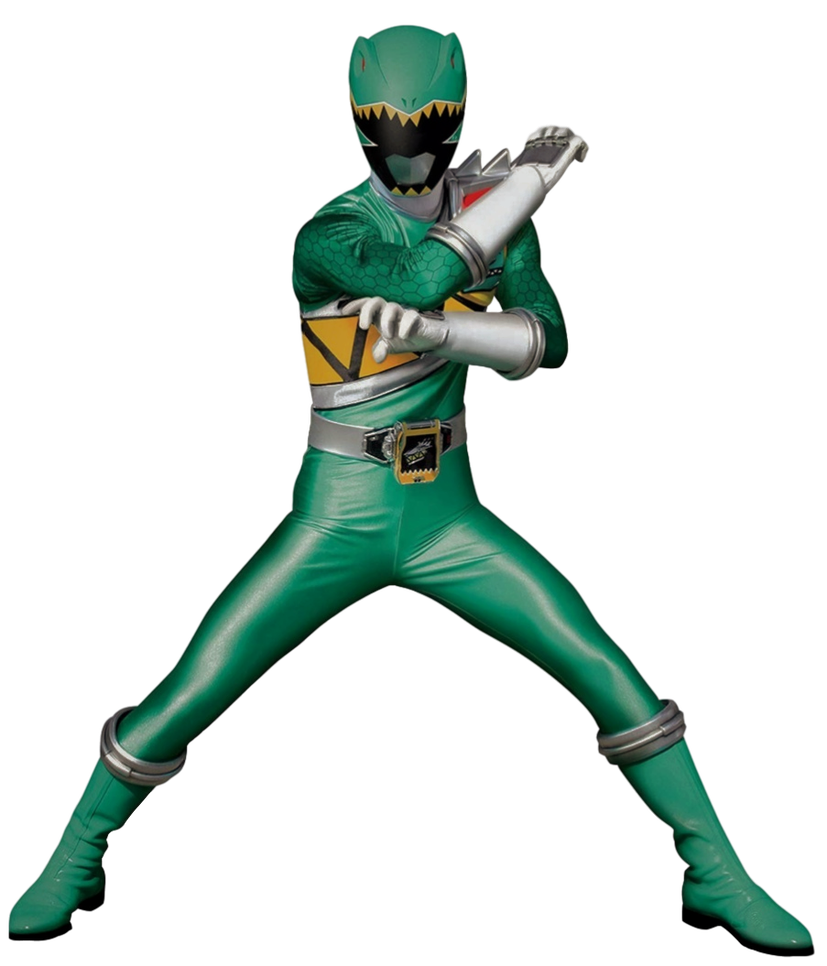 Dino Charge Green Ranger Transparent By Camo Flauge Power Rangers Dino Charge Power Rangers Dino Green Power Ranger