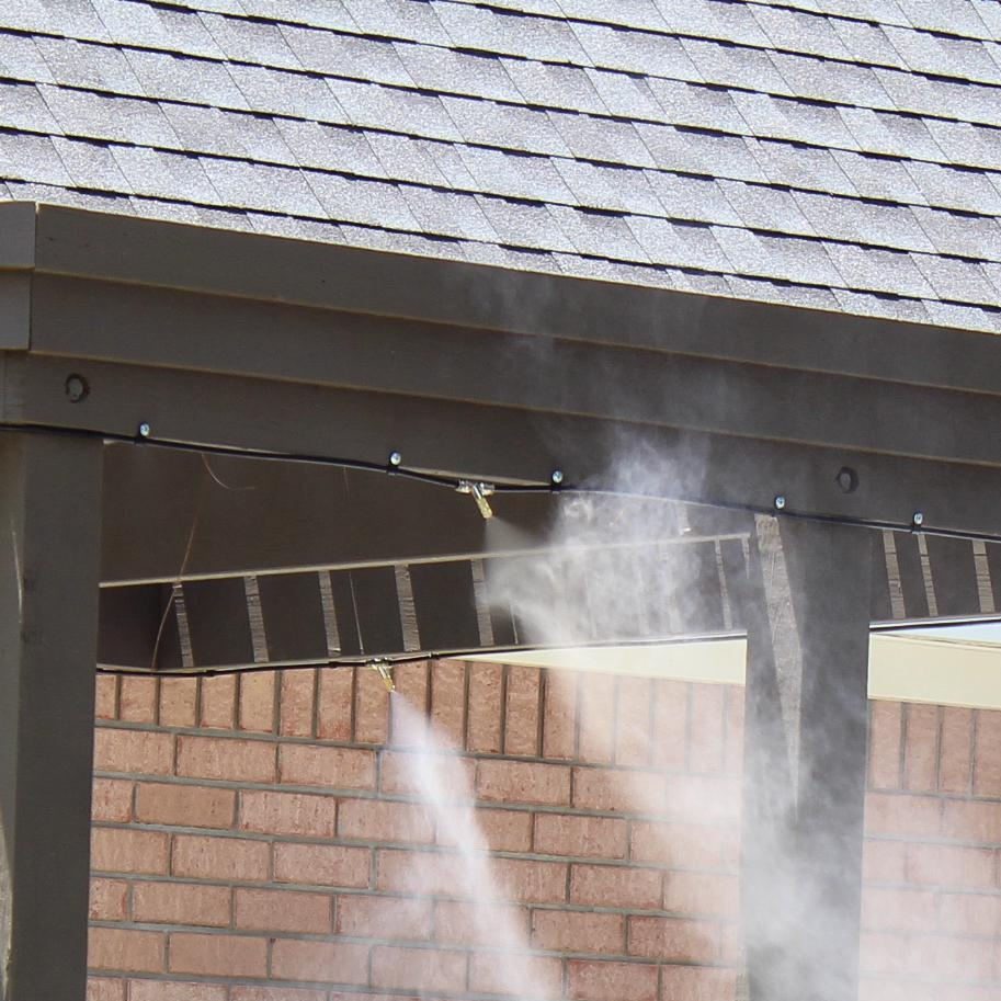 Mist Works Gulf Breeze High-Pressure Residential Misting