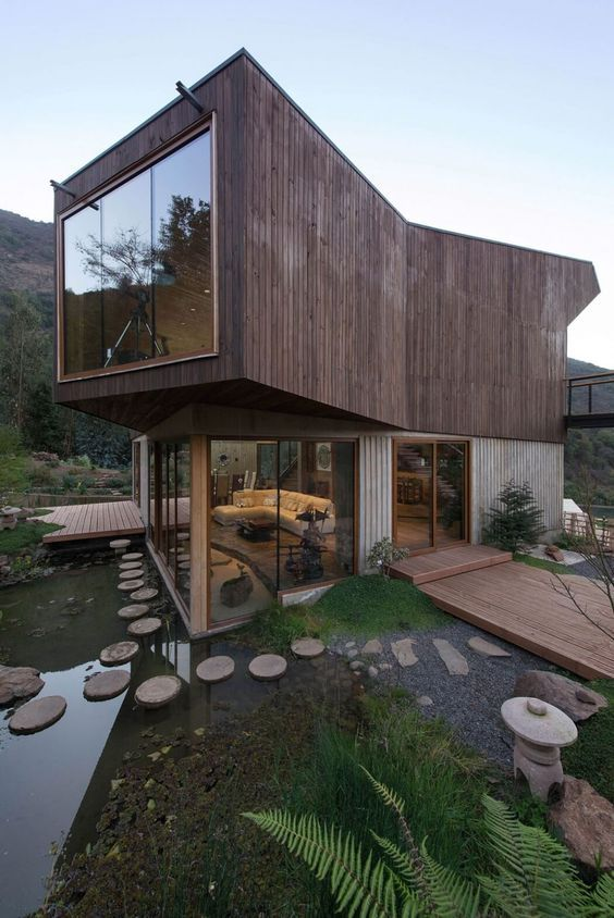 Contemporary Home Within a Natural Reserve in Chile -