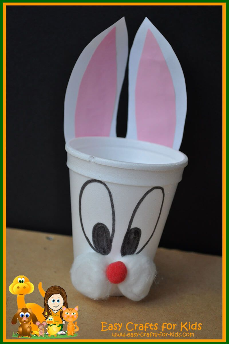 Easter bunny cup crafts for kids i really think this really is easter bunny cup crafts for kids i really think this really is nice jeuxipadfo Image collections