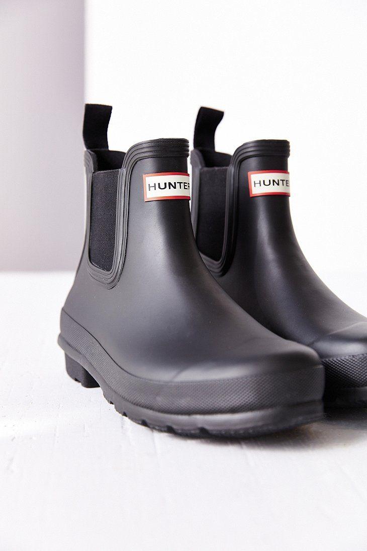 6377a72c9541fa Hunter Original Two-Tone Chelsea Rain Boot