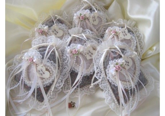 Victorian Potpourri Sachets Lace, Ribbons And Pearls