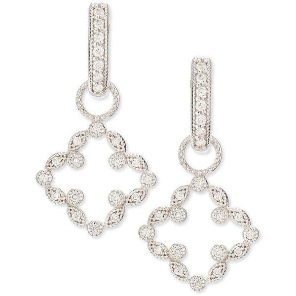 Jude Frances 18K Clover Diamond Earring Charms XoNlUwGPk