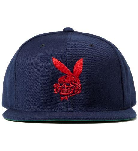 FUCT Blue Death Bunny Snapback Cap  9bcc38486277