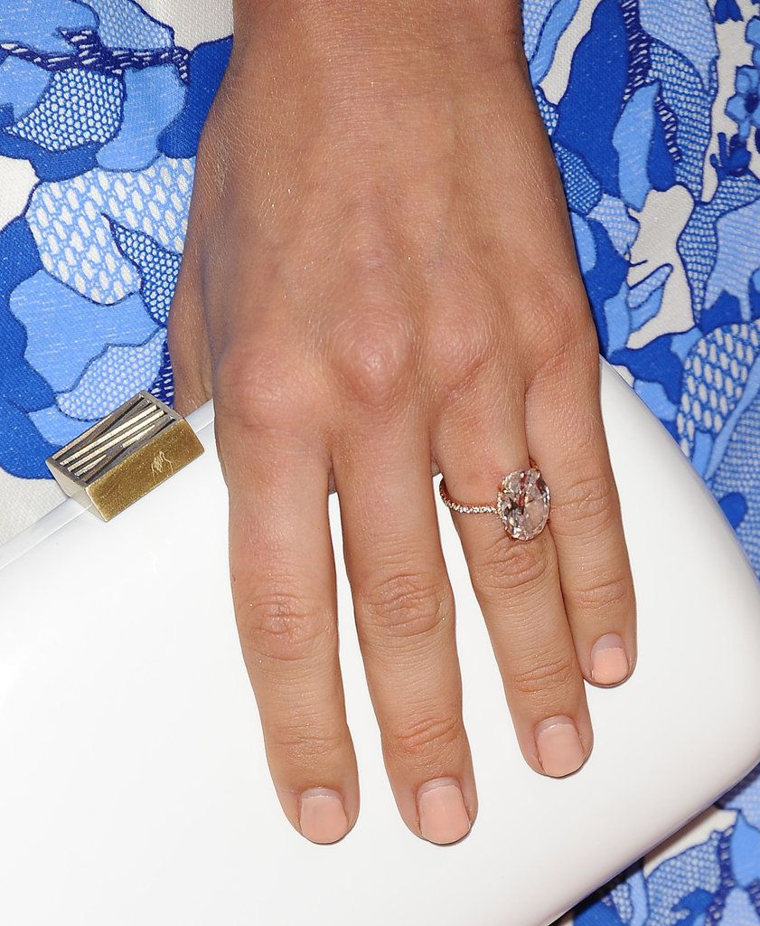 Angelina Jolie Engagement Ring Replica - SheFinds