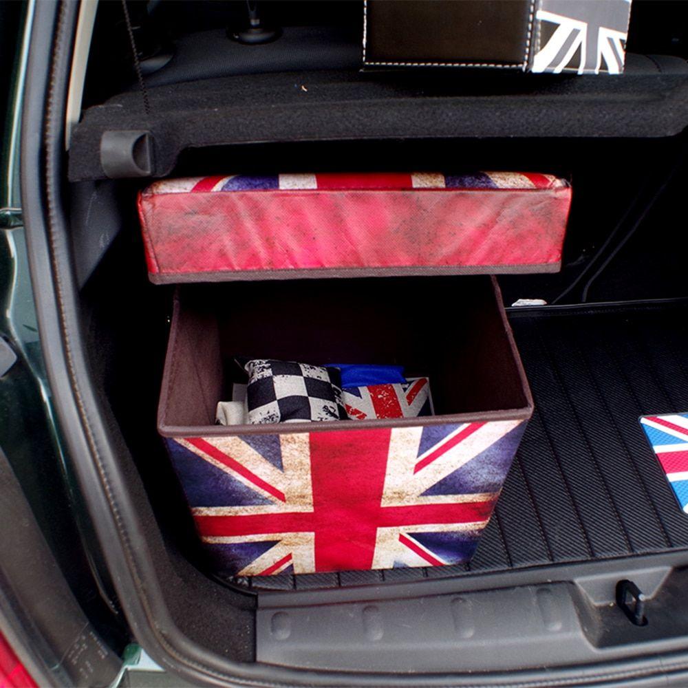 Car Trunk Folding Organizer Cargo Container Box For Mini Cooper S