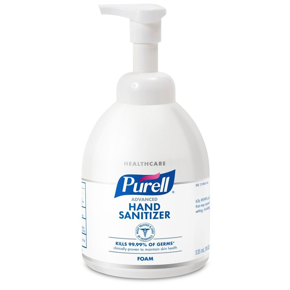 Purell Advanced Hand Sanitizer Foam Is The 1 Brand Of Instant