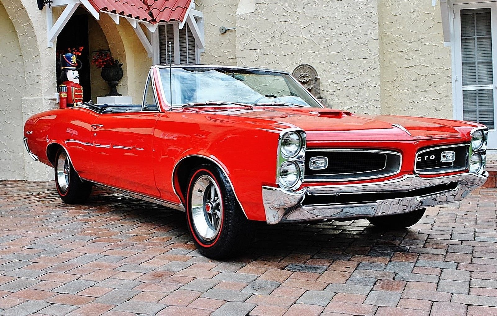 1966 Pontiac GTO Convertible Fully Restored 4-Speed w/ Bucket Seats ...