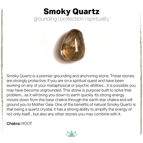Gemstone Meanings — MalaforVets #smokyquartz