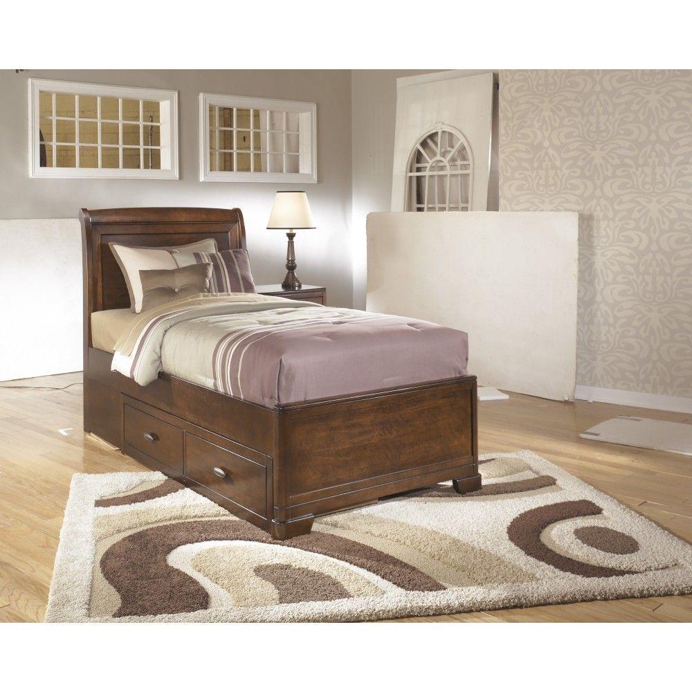 Alea Kids Twin Sleigh Storage Bed Luxury Furniture Stores Luxury Modern Furniture High Quality Bedding