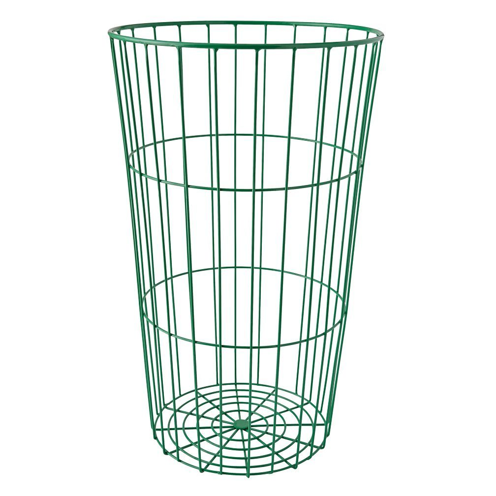 Shop Green Wire Ball Bin. Inspired by vintage styles but designed ...