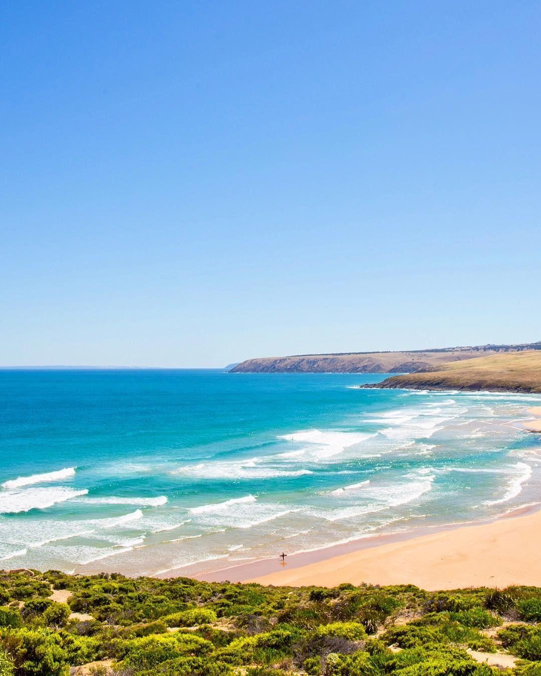 Kangaroo Island Beaches: Parsons Beach. South Australia.