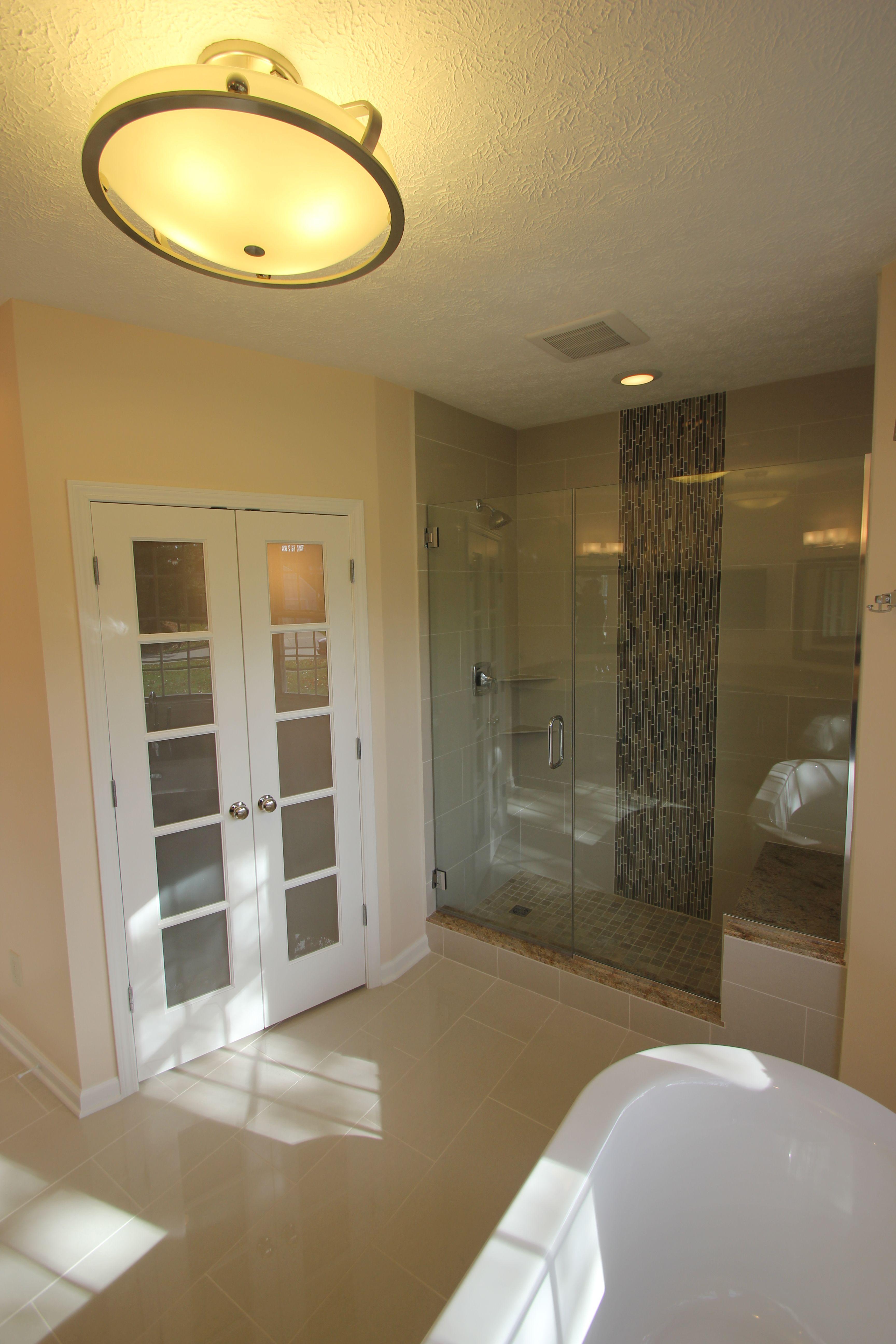 Bathroom Remodel Free Standing Tub Custom Shower Custom Shower
