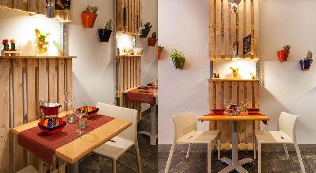 Decoracion restaurantes peque os buscar con google for Ideas decoracion restaurante