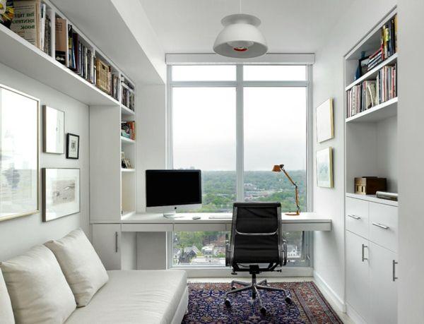 Bureau moderne à la maison idées créatives archzine.fr