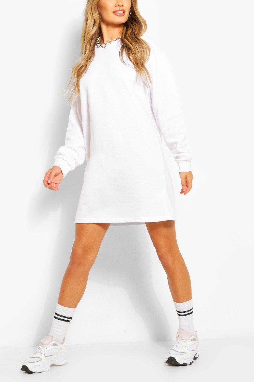 Recycled Oversized Sweatshirt Dress Boohoo Sweat Dress Sweatshirt Dress Sweatshirt Dress Outfit [ 1500 x 1000 Pixel ]