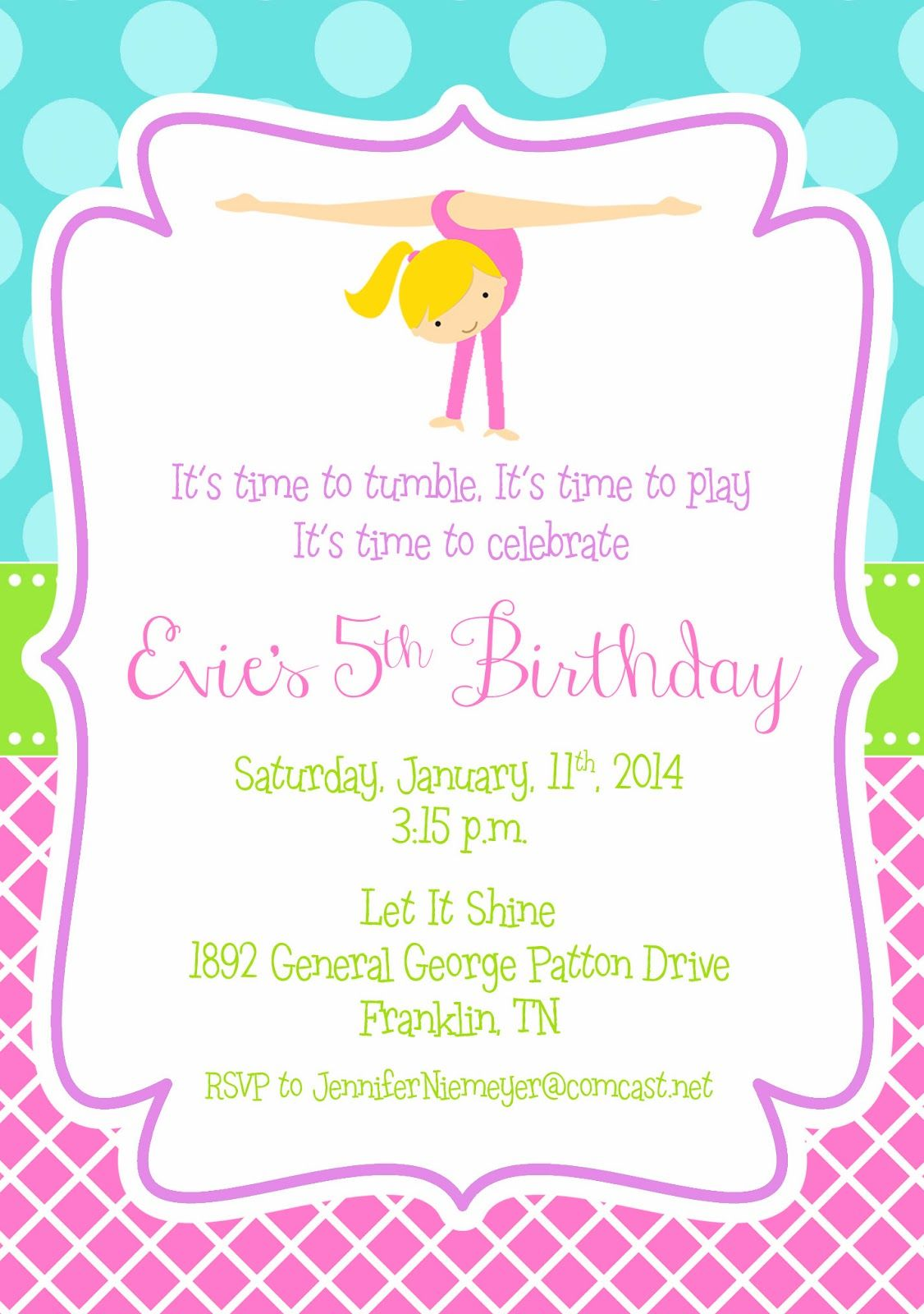 Free gymnastic printables google search gymnastics birthday free gymnastic printables google search filmwisefo Images