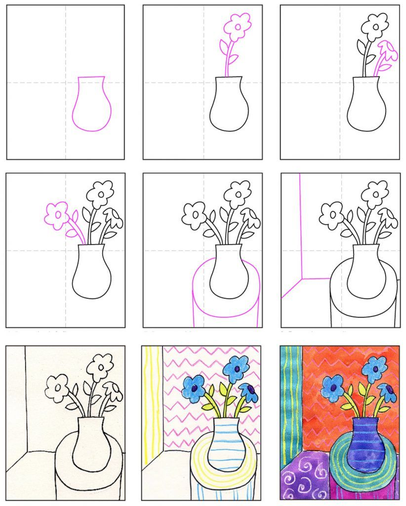 Draw like Matisse · Art Projects for Kids