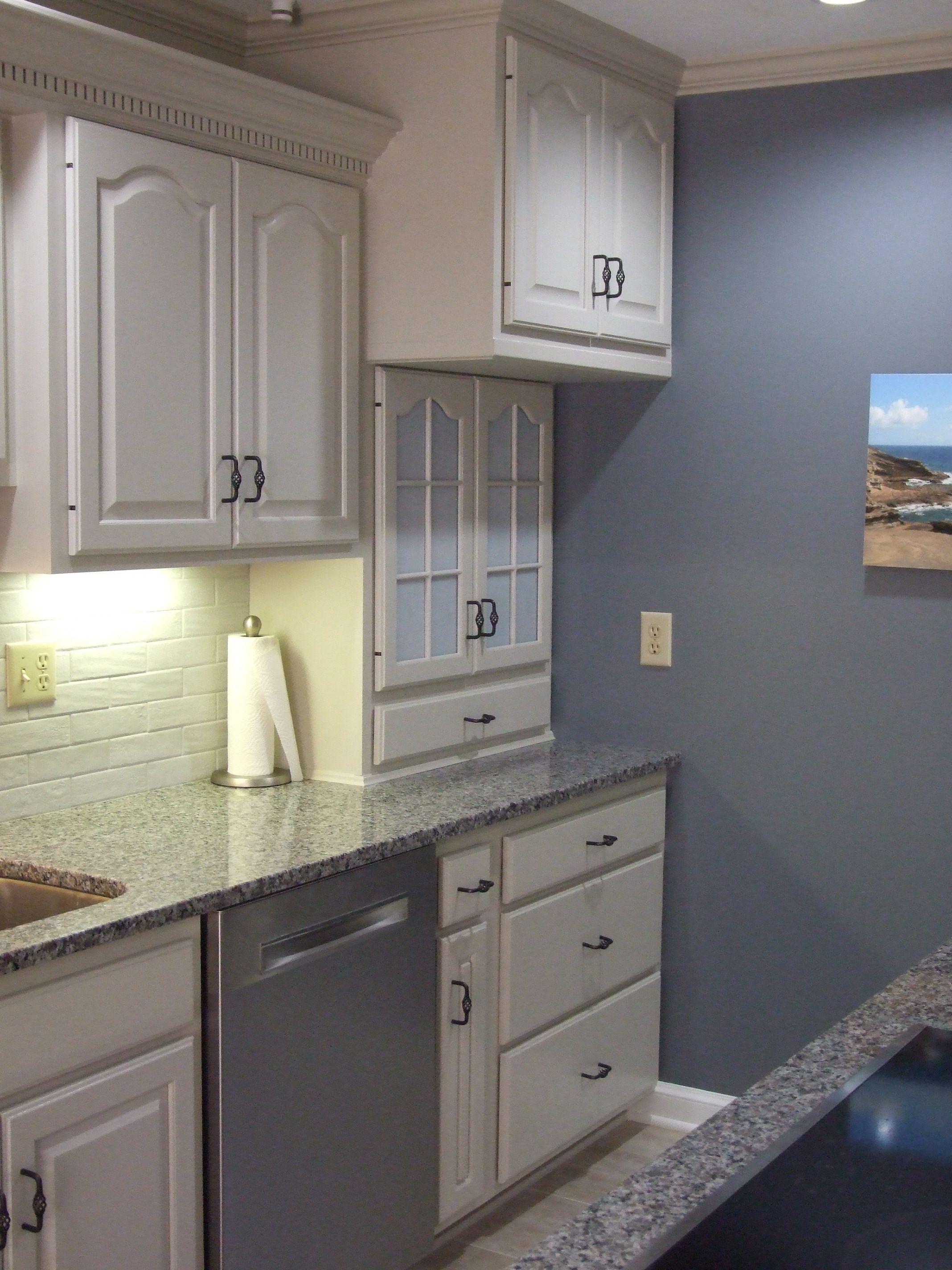 Oak Cabinets Reborn In 2020 Kitchen Remodel Oak Cabinets Updated Kitchen