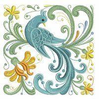 Rosemaling Birds