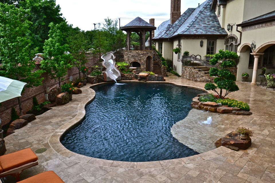 Home and Garden Design Idea's Idea Pools and Spas