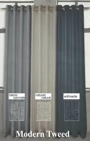Rideau de style urbain disponible en 3 couleurs , opaque et diminue la chaleur et le froid.
