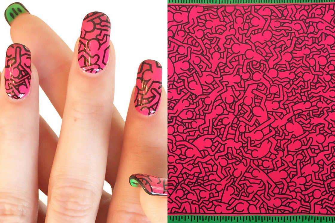 Nail Art History – Quand la manucure rencontre les peintures ...
