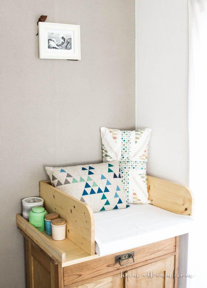 wickelauflage selbst gebaut 6 baby pinterest wickelauflage selbst bauen und kinderzimmer. Black Bedroom Furniture Sets. Home Design Ideas