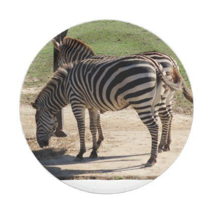 sc 1 st  Pinterest & Zebras at the Zoo Paper Plate