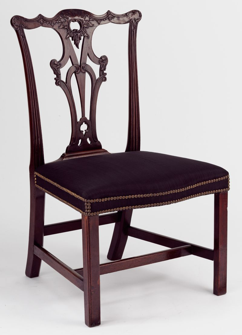 Gothic furniture chair - Chair 1765 70 Made By An Unknown Cabinet Maker After A Design By
