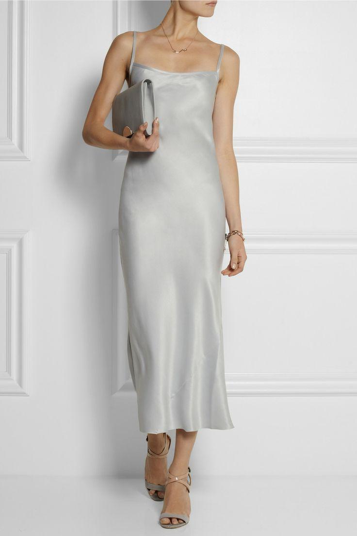 dde08c65c6e2 JOSEPH Washed-silk maxi slip dress $615 EDITOR'S NOTES Joseph's slip dress  was…
