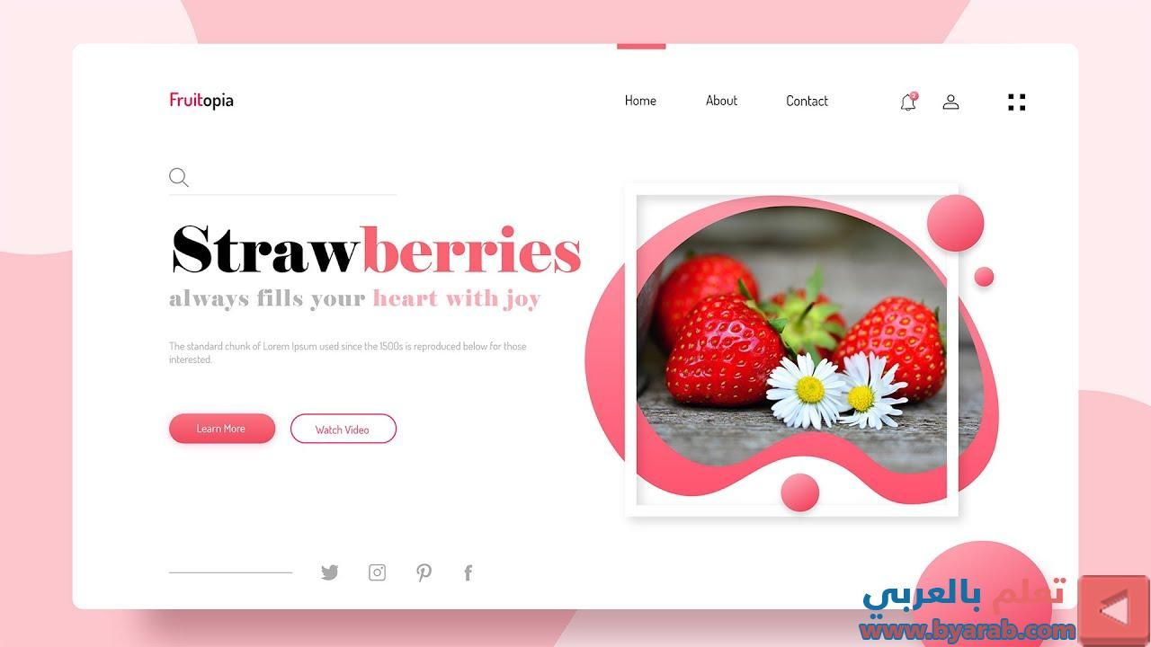 How To Make A Website Using Html And Css Step By Step Website Design Tutorial With Html Css Check Mor In 2020 Website Design Tutorial Design Tutorials Website Design