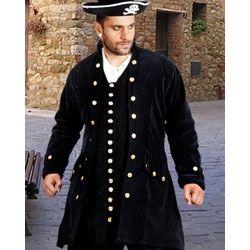Captain De Lisle Coat available at PurePirate.com