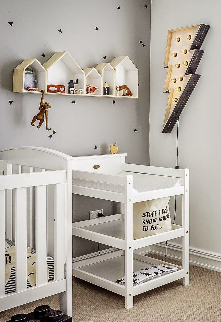 Nichos Em Formato De Casinha Mil E Uma Utilidades Kiddos  ~ Quarto Com Cabeceira E Nicho Para Quarto Bebe