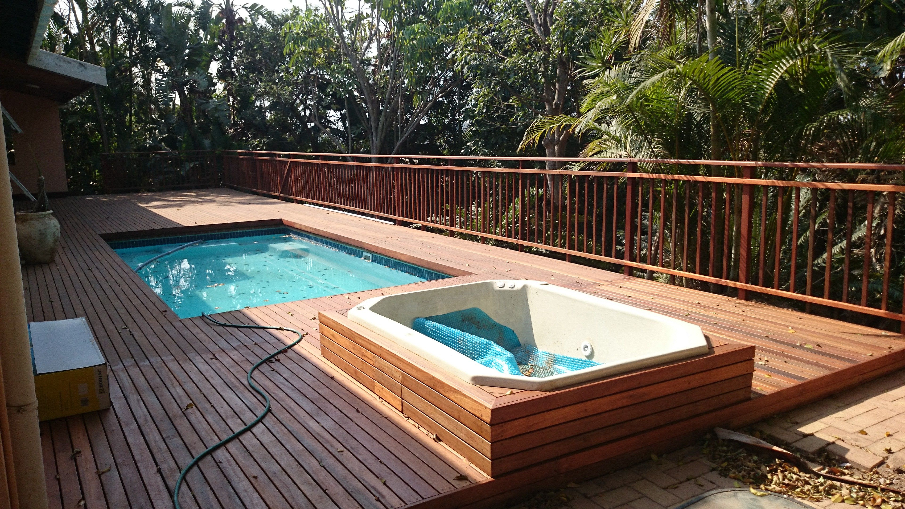 Choosing the correct type of decking material may show to the ...