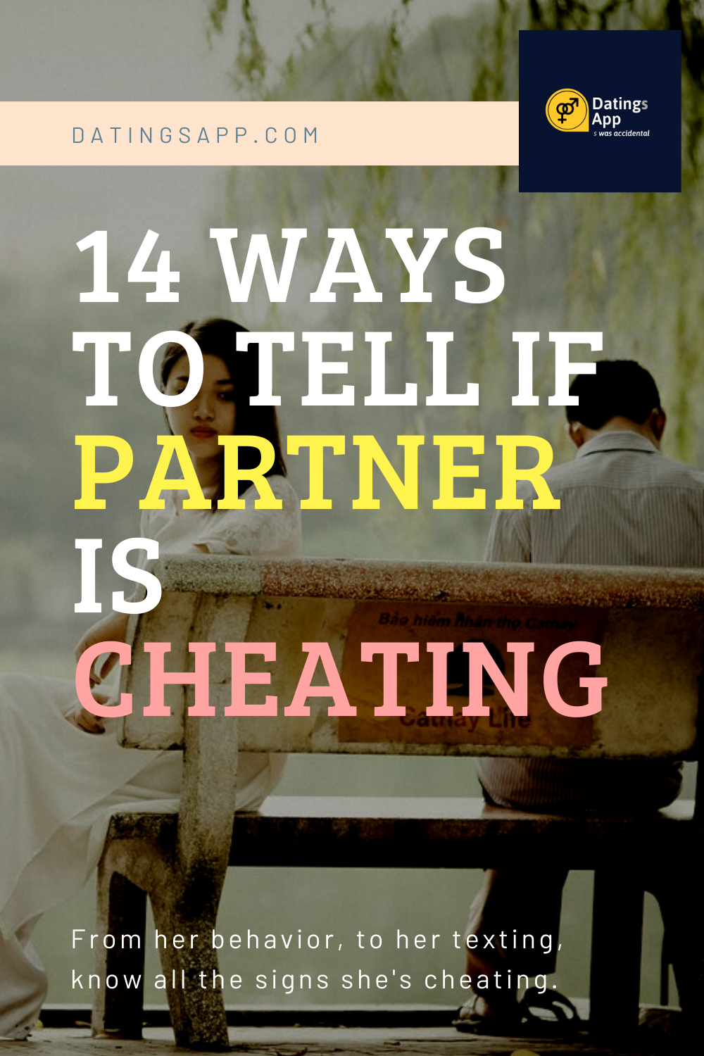 Cheating is signs she Is She