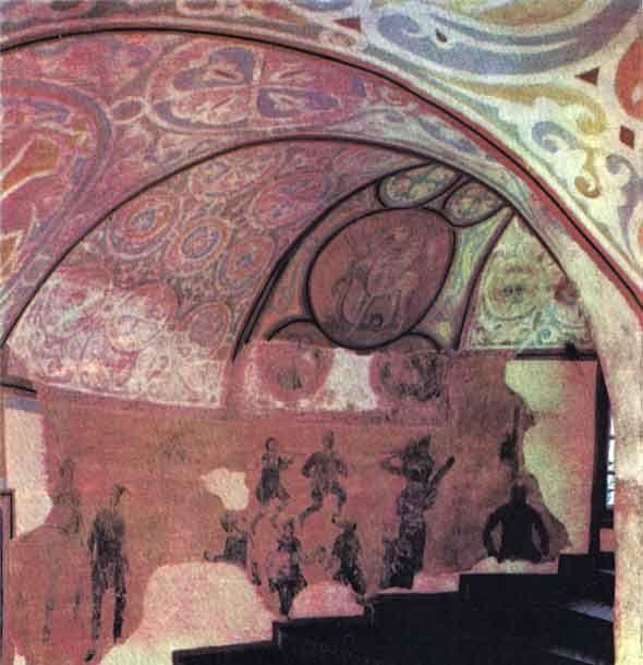 www.school.edu.ru :: Фрески Софийского собора в Киеве 1040 ...