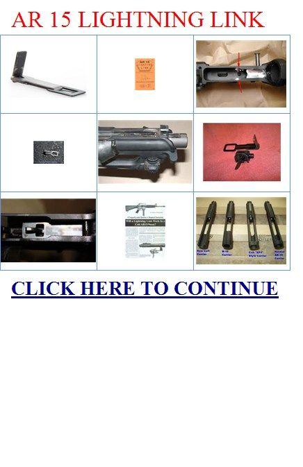 Lightning Link AR-15 Plans | AR 15 Parts, Build, Maintain ...