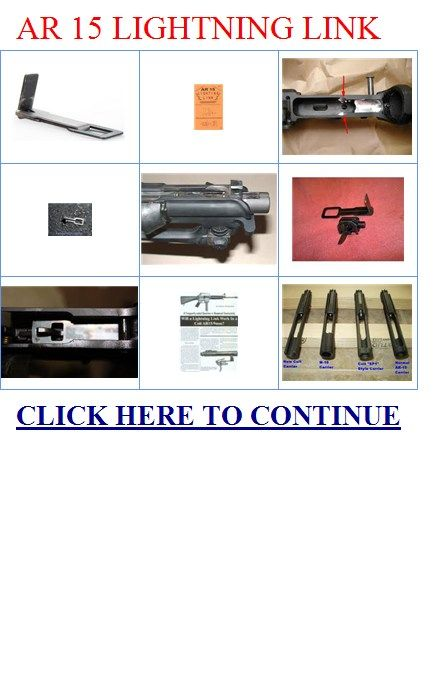 Lightning Link AR-15 Plans Guns Pinterest Lightning link, Ar15